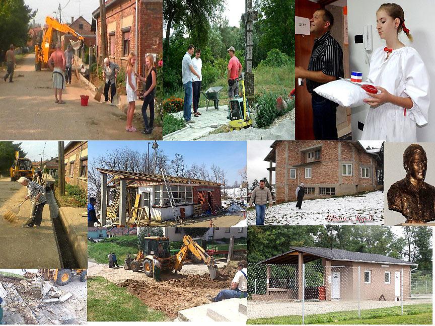 Radovi u Općini Kapela